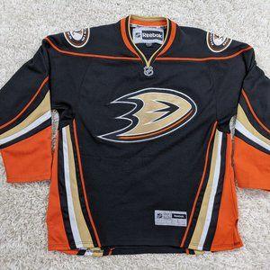 Reebok Anaheim Ducks Jersey Men Large Hockey A36